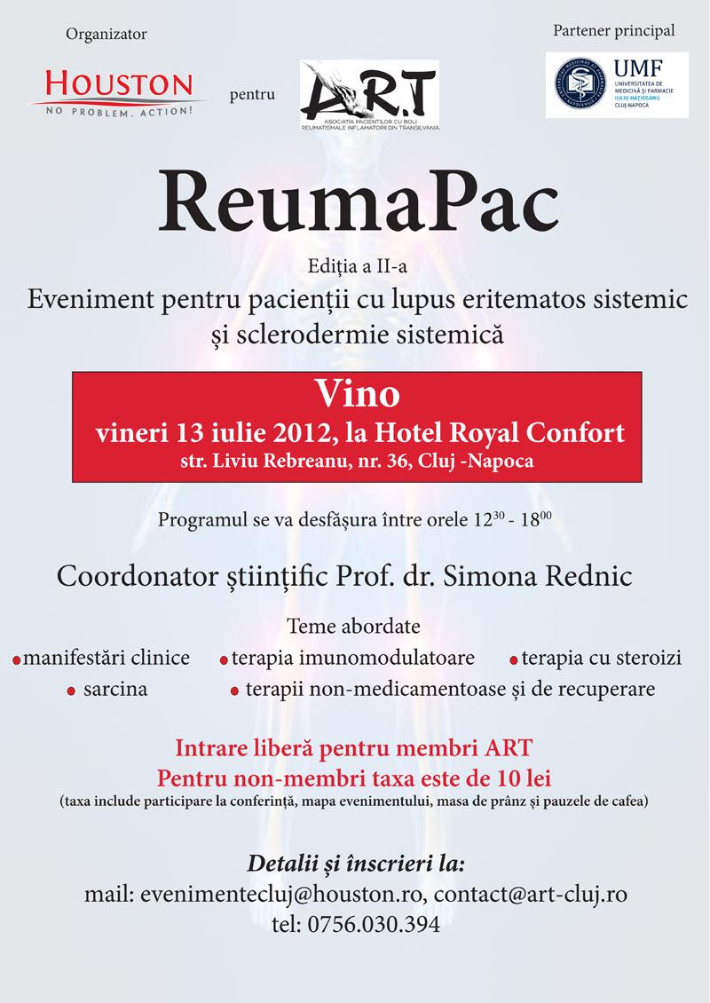 ReumaPac – Ediţia a II-a la Cluj-Napoca